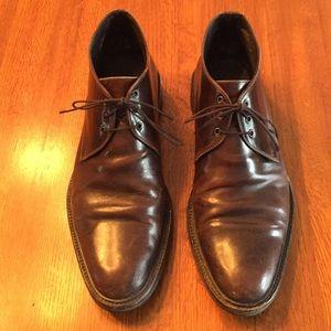Johnston &Murphy Brown Leather Chukka Boots, Sz 10